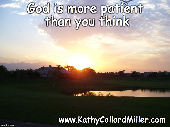 How Patient Do You Think God Is?