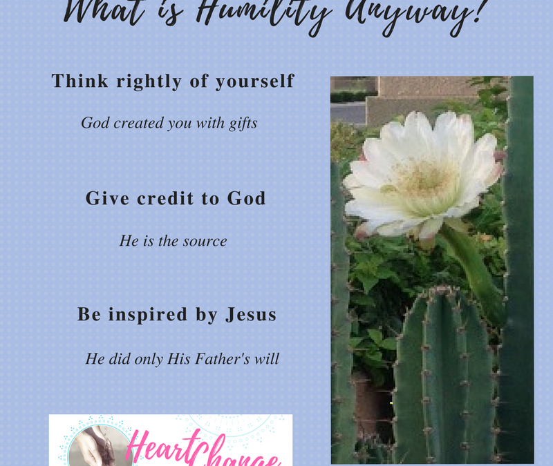 What Is Humility Anyway?