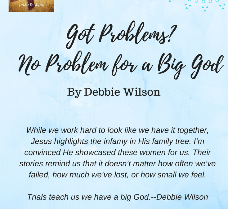 "Book-Giveaway! Debbie Wilson's New Book: ""Little Women, Big God"""