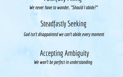4 Ways to Abide in Jesus