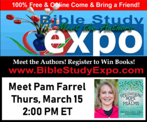 Bible Study Expo Coming Thursday, March 15th!