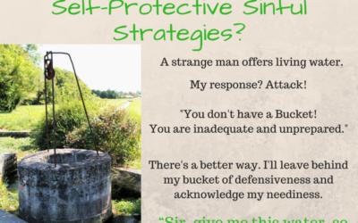 I'm Like the Samaritan Woman With Strategies