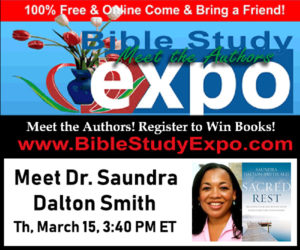 Free Books at the Bible Study Expo: Thursday, March 15th