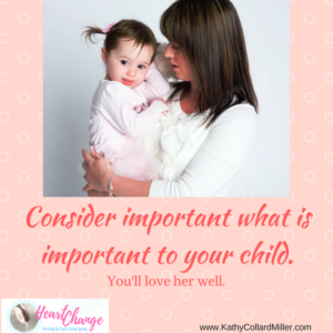 What's Valuable to Your Child?