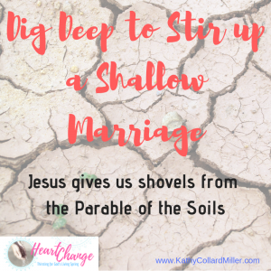 Dig Deep to Stir Up a Shallow Marriage