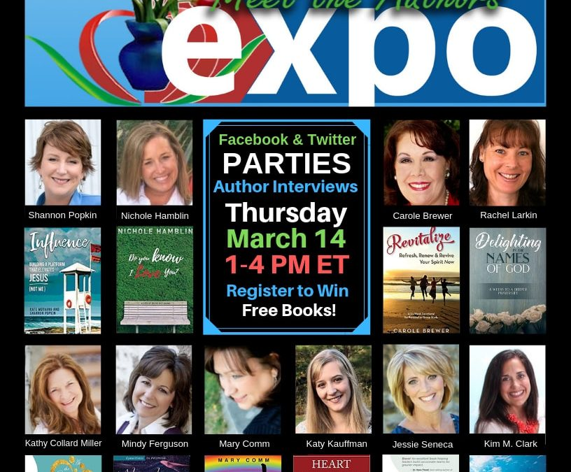 Win Free Books-Online Party Thursday, March 14th!