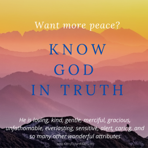 What Attribute of God Is Most Important To You?
