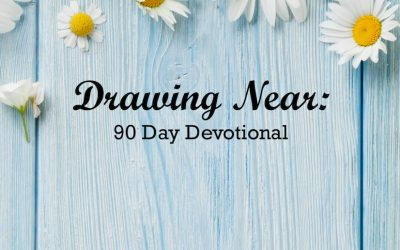 """Book Giveaway: """"Drawing Near: 90 Day Devotional"""" by Wholly Loved Ministries"""