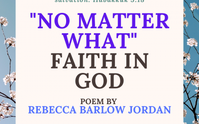 "Guest Post: ""'No Matter What' Faith"" by Rebecca Barlow Jordan"