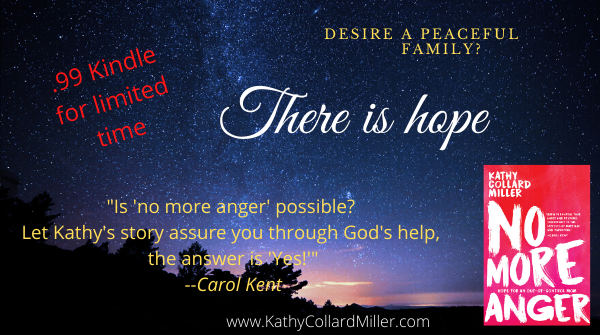 """99 cents Kindle of """"No More Anger"""""""