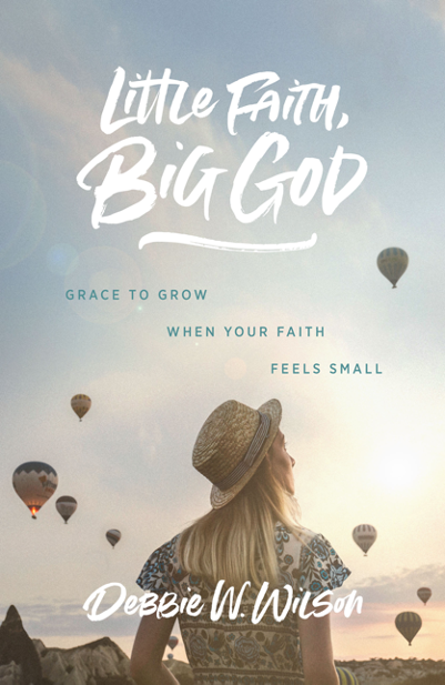 "Book Drawing: ""Little Faith, Big God"" by Debbie W. Wilson"