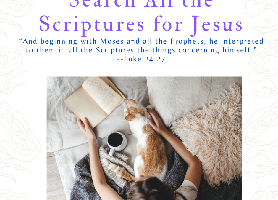 When Jesus Interpreted All the Scriptures Concerning Himself–His History Lesson!